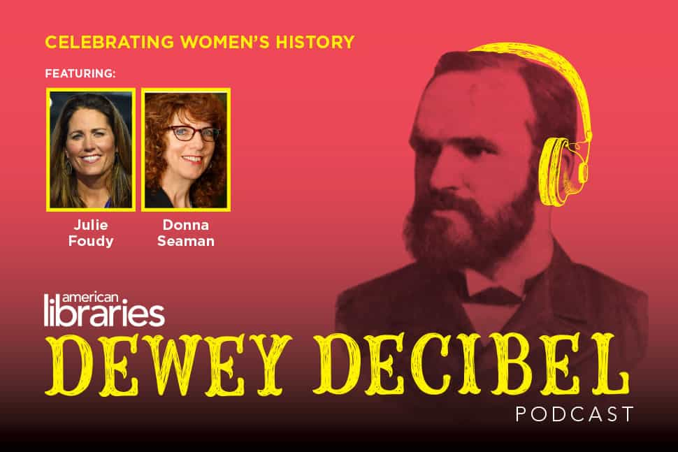 Dewey Decibel March 2017 podcast logo