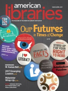 American Libraries March/April 2017 cover