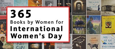 365 books by women for International Women's Day