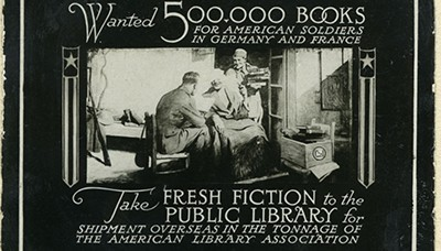 ALA Book Campaign advertisement, ca. 1918