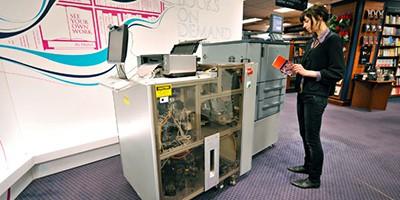 Print-on-demand Espresso Book Machine