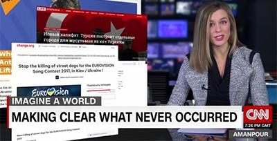 Screenshot from StopFakeNews broadcast