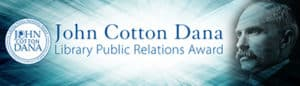 John Cotton Dana Awards banner
