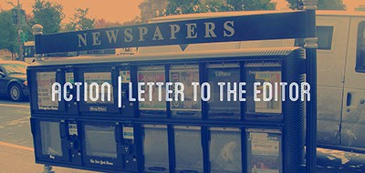 Action: Letter to the editor