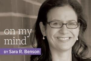 Sara R. Benson
