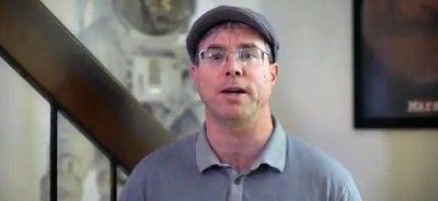 Screenshot from Andy Weir PSA
