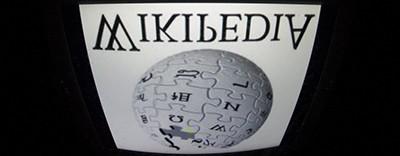 Wikipedia upside down