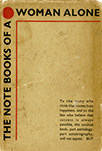 "Cover of The Note Books of a Woman Alone, by ""Evelyn Wilson,"" a pseudonym"