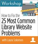 25 common library website problems