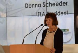 IFLA President Donna Scheeder