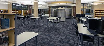 A. Maceo Smith New Tech High School library