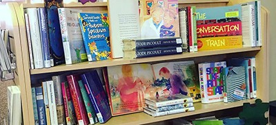 Autism book display