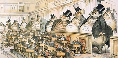 19th-century robber barons, according to Puck
