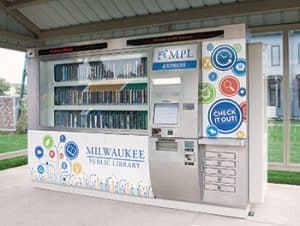 Milwaukee Public LIbrary opened an automated and unstaffed branch at the Westlawn Gardens housing development.