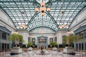 The Winter Garden at Chicago Public Library's Harold Washington Center. Photo: Chris Smith