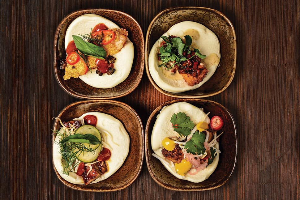 Steam buns at Yusho