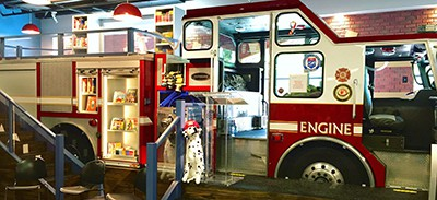 Calgary Public Library's Engine 23