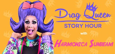 Drag Queen Story Hour with Harmonica Sunbeam