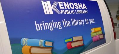 Kenosha (Wis.) Public Library outreach van