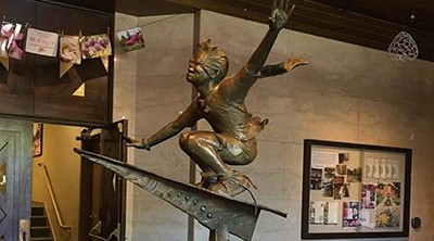 Journeys of the Imagination statue