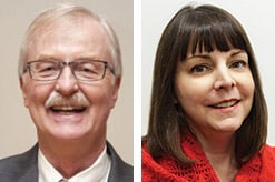 Jerry McKenna and Deborah Lammers