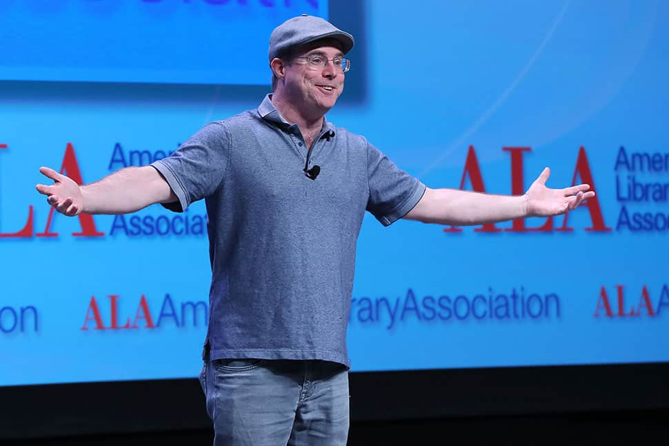 Bestselling author Andy Weir delivers his Auditorium Speaker Series presentation.