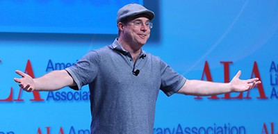 Bestselling author Andy Weir delivers his Auditorium Speaker Series presentation