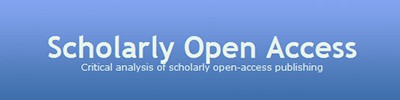 Former Scholarly Open Access blog