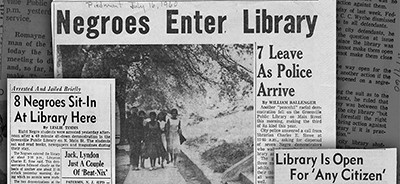 Clippings from The Greenville News and The Piedmont, courtesy of the Greenville (S.C.) County Library System