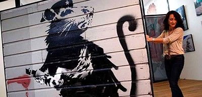 Haight Street Rat. Photo by Scott Strazzante, San Francisco Chrnoicle