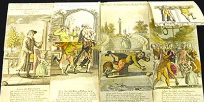 A harlequinade from 1771