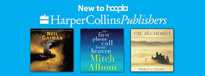 HarperCollins titles on hoopla
