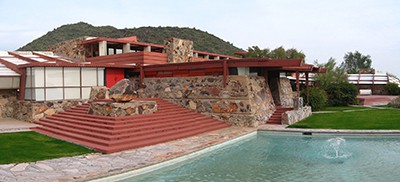 The art and architecture tour will visit Taliesin West in Scottsdale