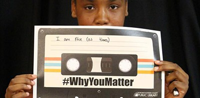 Teen participant in Kokomo's Why You Matter program