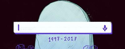 R.I.P. search, 1997-2017