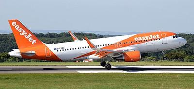 EasyJet airplane