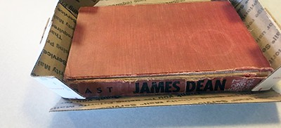 James Dean book returned to Indiana State Library