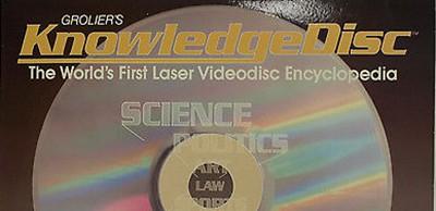 Grolier's KnowledgeDisc, 1985