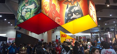 The convention floor at San Diego Comic-Con