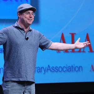 "<i>The Martian</i> author Andy Weir. <span class=""credit"">Photo: Cognotes</span>"