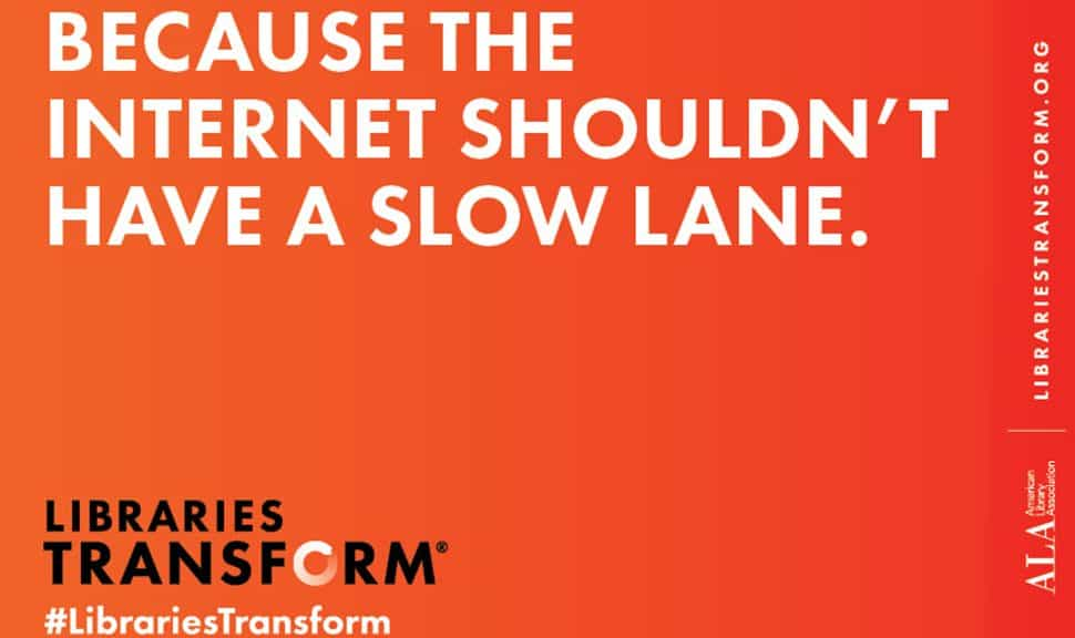 Because the internet shouldn't have a slow lane