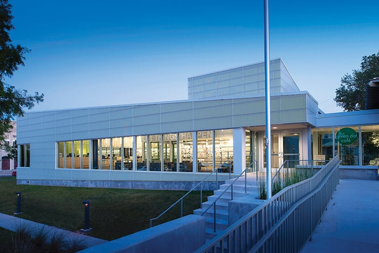 Rosa F. Keller Library and Community Center, New Orleans Architect: Eskew+Dumez+Ripple Photo: Timothy Hursley