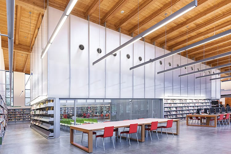 New York Public Library, Stapleton branch renovation and expansion Architect: Andrew Berman Architect Photo: Naho Kubota