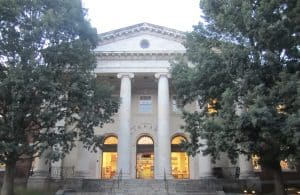 Jefferson-Madison Regional Library in Charlottesville, Virginia (Photo: Billy Hathorn/Creative Commons license)