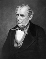 James Fenimore Cooper portrait by Matthew Brady