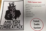 Amy McKay runs a Zombie Survival Course for teens