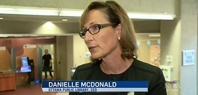 Ottawa Public Library CEO Danielle McDonald