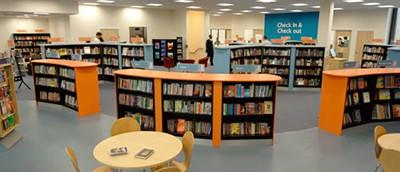 Downham Library, UK