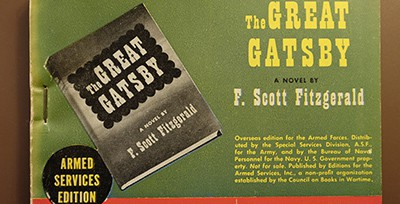 Armed Services Edition of The Great Gatsby