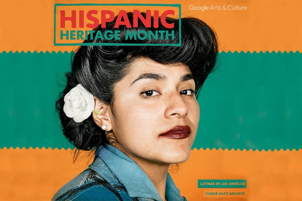 Hispanic Heritage Month from Google's Latino Cultures platform